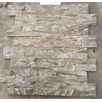 Wholesale White Wood Granite Culture Stone,Natural Thin Stone Veneer,Fireplace Stacked Stone Wall Panel from china suppliers
