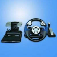 Wholesale Racing Game Steering Wheels for PS2, PS1 and PC USB from china suppliers