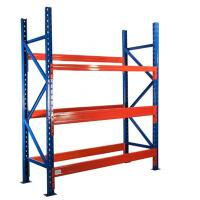 Wholesale 700mm Depth Heavy Duty Storage Racks , 3 T Per Layer Warehouse Pallet Storage Shelves from china suppliers