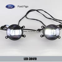 Wholesale Ford Figo car front fog lamp assembly LED daytime running lights drl for sale from china suppliers