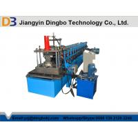 Wholesale Perforated Interchangeable C / Z Purlin Roll Forming Machine 12 Rows from china suppliers