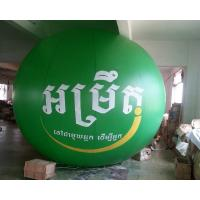 Wholesale Pvc Helium Balloon Green Inflatable Advertising Ball for Advertisement and Business Show from china suppliers
