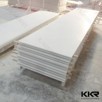 Quality Corian glacier white acrylic solid surface sheet for sale