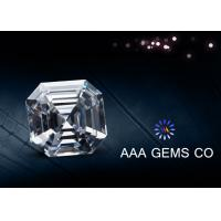 Wholesale Forever Brilliant Colorless Asscher Cut Moissanite Eight Arrows Eight Hearts from china suppliers