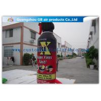 Wholesale Large Model Bottle Shape Inflatable Fire Extinguisher Water Proof Material from china suppliers