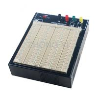Wholesale ABS Plastic Brown Powered Breadboard 50000 Times Contact Life from china suppliers