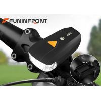 Wholesale USBRechargeable 400LMs LED BikeLights, 4 Gears Mountain Bicycle Front Lights from china suppliers