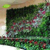 Gnw glw059 wall hanging artificial flowers green plants for Artificial plants indoor decoration