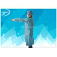Wholesale Non Woven Protective Spunbonded Disposable Isolation Gowns Polypropylene 120*140cm from china suppliers