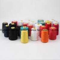 Wholesale 100% spun polyester sewing thread dyed yarn from china suppliers