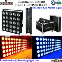 Wholesale Cool White COB LED Matrix Beam Blinder Light , Nightclub Lighting Effects from china suppliers