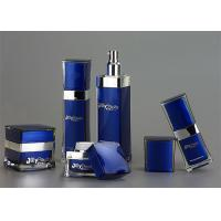 Wholesale Luxury Dark Blue Cosmetic Bottles And Jars Wholesale With Plastic from china suppliers