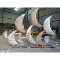 Wholesale Hot sales Stainless steel  sculpture with laser cutting,  metal sculpture with painting from china suppliers