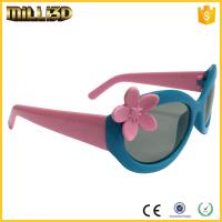 Quality hot selling plastic circular polarized 3d glasses for color movies for sale
