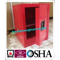 Wholesale Flame Proof 4 Gallon Paint Storage Cabinets For Corrosive Combustible Liquid from china suppliers
