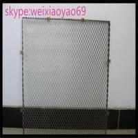 Wholesale 304 diamond hole  Stainless Steel Expanded Metal/  expanded wire mesh for decorate/metal mesh from china suppliers