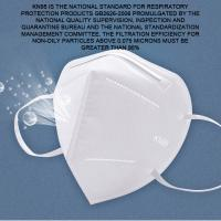 Wholesale Non Toxic Valved Face Mask For Electronic Factory / Food Processing Industry from china suppliers