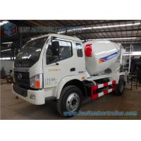 Wholesale 5 Cbm Forland Times Zhongchi J4 lorry cement mixer Yuchai 130 Hp Engine from china suppliers