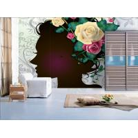 Wholesale RW-010 Water Based Ink Figure Series Customized Interior Decoration Wall paper,  Sticker from china suppliers