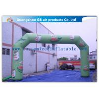 Wholesale Promotion Arch Square Custom Inflatable Arch With Printing , Strong Pvc Bag Packing from china suppliers