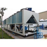 Quality R134a 226.3kw  Environmently Air Cooled Screw Chiller for sale