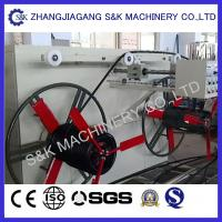 Plastic Hdpe Pipe Coiling Machine Coil Winding Machines 50m / Min