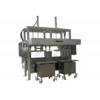 Wholesale Double Plate Reciprocating Egg Tray Forming Machine , Pulp Moulding Machinery from china suppliers