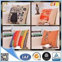 Wholesale Black / Red / Blue Colorful Decorative Embroidery Decorative Cushion Covers , Chair Cushion from china suppliers