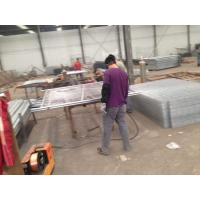 Wholesale Low Zinc Temporary Site Fence Panels , Barricade Fence Panels AS4687-2007 from china suppliers