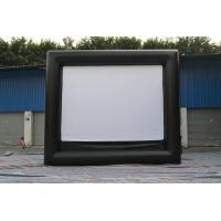 Wholesale Giant Inflatable Outdoor Movie Screen For Party , Park , Advertisement , Tour from china suppliers