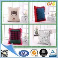Wholesale Polyester Fabric Washable Car / Sofa Seat Cushion Covers With Filling for Home Decor from china suppliers
