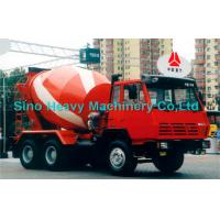 Wholesale Sinotruk STEYR Diesel Concrete Mixer Trucks 375hp 130hp , 8 Cubic Meters from china suppliers