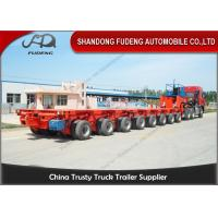 Wholesale Hydraulic Modular Heavy Equipment Trailers 100 - 120 Tons Payload Multi Axles from china suppliers