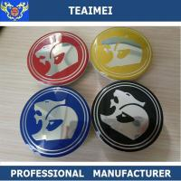 Quality Customized Colorful Hsv 63mm Car Wheel Center Caps / Auto Names And Logos for sale