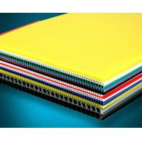 Wholesale PP Hollow Corrugated Plastic Sheet Coroplast For Floor Covering from china suppliers