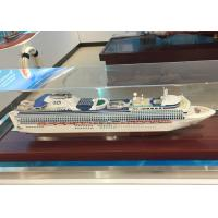 Wholesale Container Hand Crafted Model Ships With Sapphire Princess Cruise Ship Shaped from china suppliers