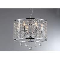 Wholesale Chrome Indoor 6 - Light Luxury Crystal Chandelier For Housing Estates from china suppliers