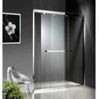 Wholesale 1200-2000X1900mm Double Sliding Glass Shower Doors , Shower Cubicle Doors With Double Wheels from china suppliers