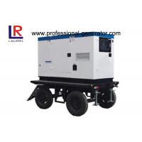 Wholesale 30kw Soundproof Trailer Welding Mobile Power Generator with Direct Injection Engine from china suppliers