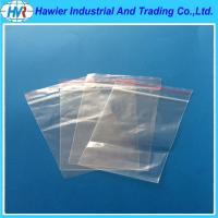 Quality Free sample double track soft plastic transparent moisture proof zip lock vegetable bag for sale