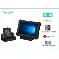 Wholesale 10 Inch Android / Window 10 Pro 32GB 3G 4G Rugged Waterproof Tablet With NFC Scanner from china suppliers