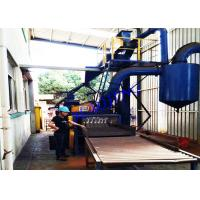Wholesale Customized Automatic Shot Blasting Machine For Steel Sheet Profile Treatment from china suppliers