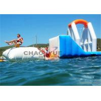 Quality Commercial Huge Floating Inflatable Water Park With CE Air Pump Accessory for sale