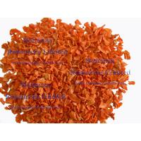 Wholesale EU standard ISO certified Dried Carrot Flakes AD carrot granule from china suppliers