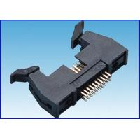 Wholesale straight female header 2 54mm straight header Shruded header S/T big latch type square pin from china suppliers