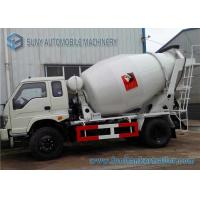 Wholesale Sino Mini Concrete Mixer Truck 3 Cbm HOWO , 80 km / h Max Speed from china suppliers