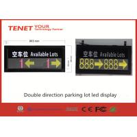 Wholesale RS485 outdoor indoor led message display for smart parking guidance system from china suppliers