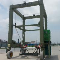 China Hydraulic Boat Lifting Rubber Tire Ship Gantry Crane ISO / CE / SGS Certification on sale