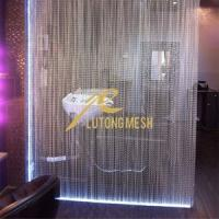 Wholesale Aluminium hanging fly screen curtain hotel room curtain from china suppliers
