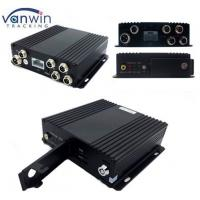 Wholesale 4 Channel Vehicle Video / Audio SD Card DVR Recorder Mobile Security System from china suppliers